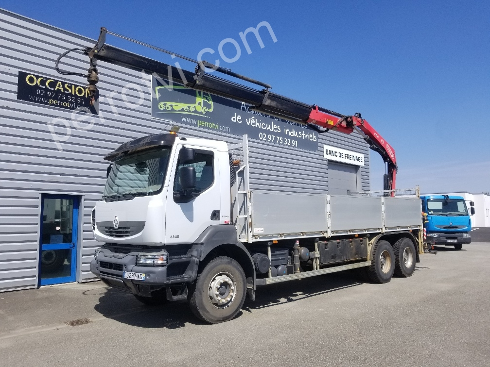 VOLVO KERAX 380DXI 6X4 photo 1